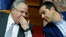 Yunanistan Dışişleri Bakanı Nikos Kocyas istifa etti