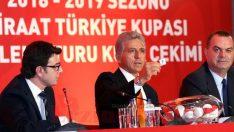 Ziraat Türkiye Kupası'nda kura çekildi! İşte takımların eşleşmeleri