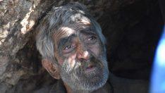 2 dil bilen, 72 yaşındaki adam 40 senedir mağarada yaşıyor