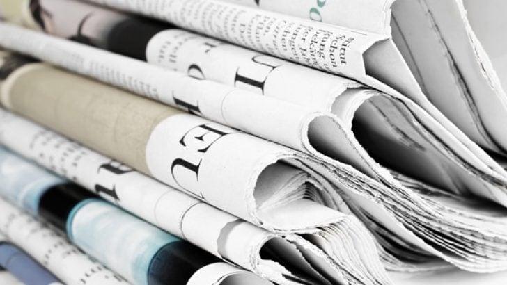 22 Kasım 2018 gazete manşetleri