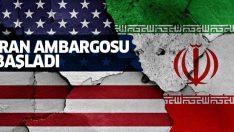 ABD yeni İran yaptırımlarını uygulamaya başladı!