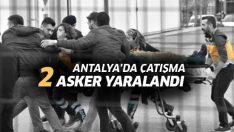 Antalya'da bir saldırgan, Jandarma ekiplerine ateş açtı: 2 asker yaralandı