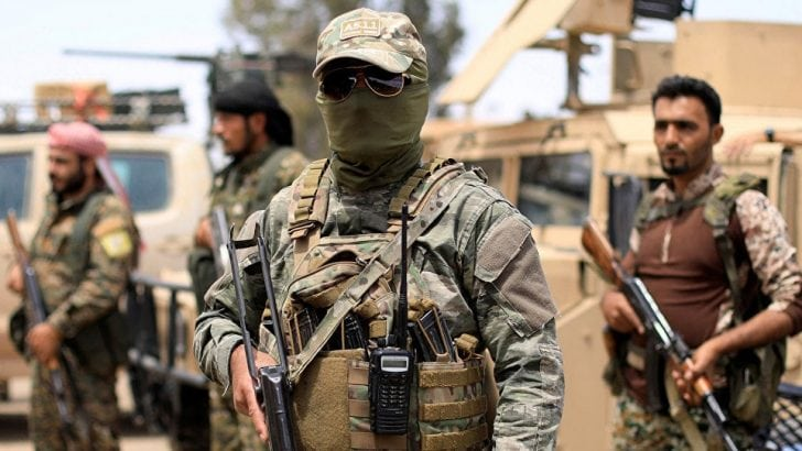 Arap ülkesinden YPG'ye destek!
