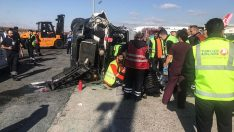 Atatürk Havalimanı'ndaki kazada 9 kişi yaralandı