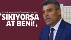 Disipline sevk edilen CHP'li Öztürk Yılmaz'dan Kılıçdaroğlu'na sert tepki!