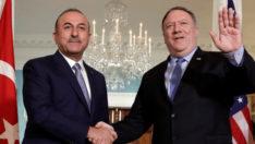 Dışişleri Bakanı Mevlüt Çavuşoğlu ile görüşen Pompeo'dan açıklama