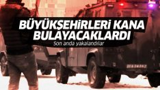 Diyarbakır ve Malatya'da saldırı hazırlığında olan teröristler yakalandı!