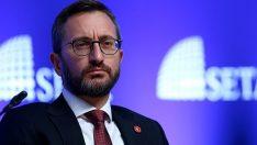 Fahrettin Altun, Fransız haber ajansı AFP'ye açıklamalarda bulundu