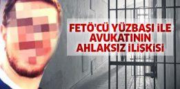 FETÖ'den tutuklu yüzbaşı ile avukatı uygunsuz biçimde basıldı!