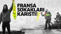 Fransa'da sokaklar karıştı! Paris'te 'sarı yelekliler'in protestoları sürüyor…