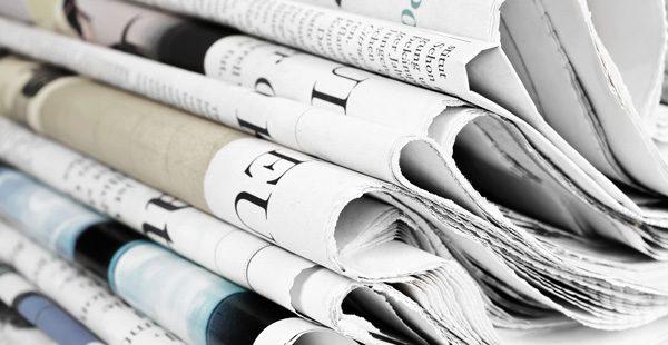 Günün gazete manşetleri – 15 Kasım 2018