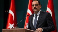 İbrahim Kalın'dan ABD'ye: YPG'yi,PYD'yi PKK'dan ayırıyoruz diyerek kandıramazlar