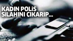 İstanbul'da şok eden olay.. Kadın polis, kendi kafasına sıktı!