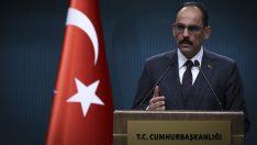 İbrahim Kalın: Temel problem ABD'nin YPG/PYD'yi terör örgütü olarak tanımaması