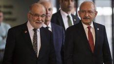 Kılıçdaroğlu ile Karamollaoğlu'ndan ittifak görüşmesi sonrası açıklama