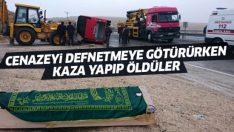 Malatya'da feci kaza! Yolcu midibüsü devrildi: 7 ölü, 15 yaralı
