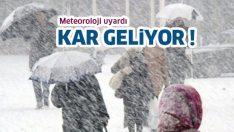 Meteoroloji'den kar uyarısı! Bu akşam başlıyor