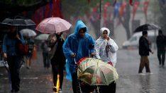 Meteorolojiden yurdun büyük bir bölümü için sağanak uyarısı