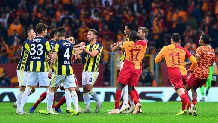 Olaylı Galatasaray – Fenerbahçe derbisinin cezaları belli oldu