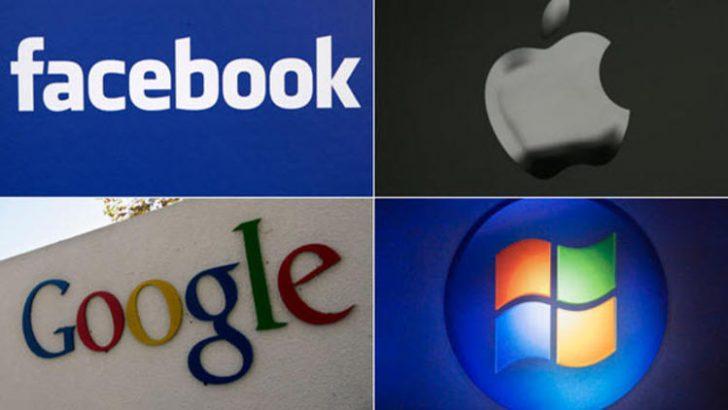 Önde gelen teknoloji şirketleri saatte ne kadar kazanıyor?