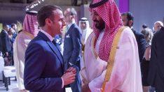 Macron'dan Prens Selman'a Kaşıkçı çağrısı