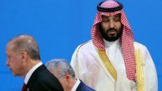 Prens Selman, Cumhurbaşkanı Erdoğan'ın yüzüne bakamadı!