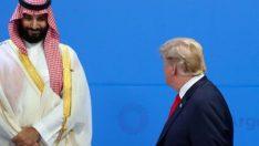 Prens Selman'dan Trump'a manidar tebessüm!