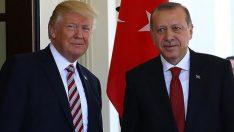 Başkan Erdoğan, ABD Başkanı Trump ile görüştü