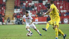 Türkiye-Ukrayna karşılaşmasında gol sesi çıkmadı