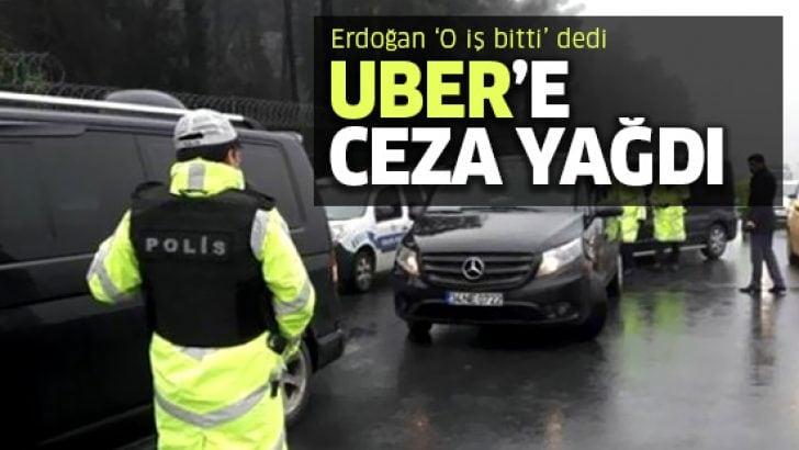 UBER sürücülerine ve yolcularına ceza yağdı!