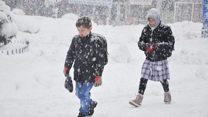 Tekirdağ'da okullar 2 gün tatil ilan edildi