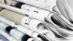 27 Aralık 2018 günün gazete manşetleri