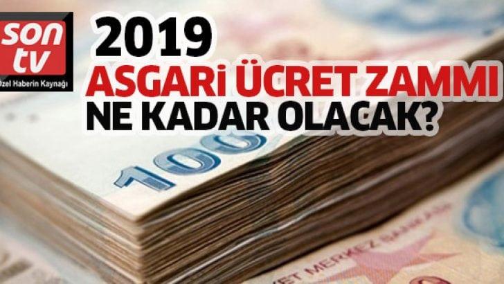 2019 asgari ücret artışında önemli gelişmeler! 2019'da asgari ücret zammı ne kadar olacak?