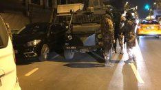 Fatih'te siyah çarşaflı erkek saldırgan bekçiye ateş açtı!