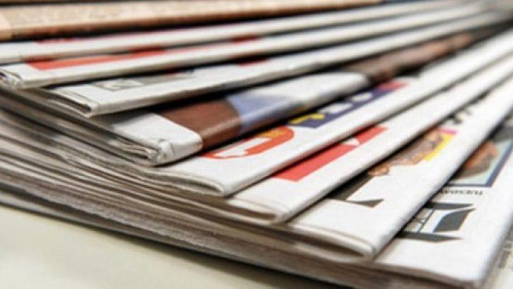 28 Aralık 2018 gazete manşetleri