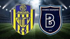 Ankaragücü Başakşehir maçı saat kaçta, hangi kanalda? İşte Ankaragücü Başakşehir maçının ilk 11'i
