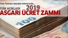 2019 Asgari ücret zammı ile ilgili TÜİK'in raporu açıklandı! 2019 asgari ücret zammı ne kadar olacak?
