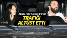 Berkay, alkollü araç kullanarak trafiği birbirine kattı!