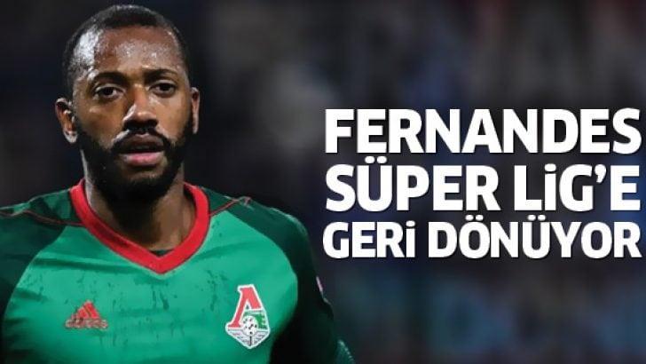 Beşiktaş'ın eski yıldızı Fernandes Süper Lig'e geri dönüyor!