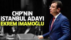 CHP'nin İstanbul adayı Ekrem İmamoğlu oldu! Ekrem İmamoğlu'ndan ilk açıklama