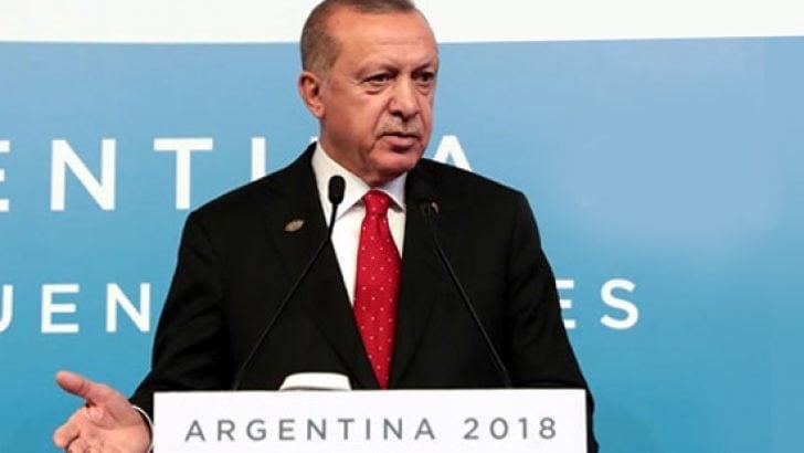 Cumhurbaşkanı Erdoğan'dan G20'de Kaşıkçı cinayetine dair açıklama