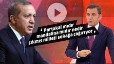 Erdoğan'dan Fatih Portakal'a: Haddini bilmezsen…
