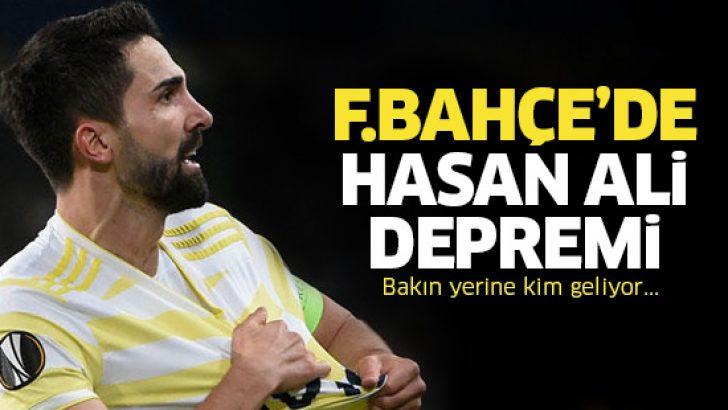 Fenerbahçe'de Hasan Ali Kaldırım'ın bileti kesildi! İşte yerine gelecek isim…