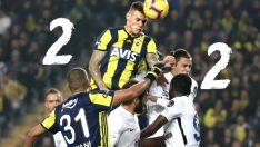 Fenerbahçe'ye 90+2 şoku! Fenerbahçe Erzurumspor maç özeti