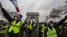 Fransa Başbakanı, sarı yeleklilerle görüştü