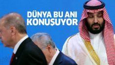 Dünya bu anı konuşuyor! G20 Zirvesi'nde Prens Selman, Erdoğan'ın yüzüne bakamadı!