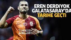 Galatasaraylı Eren Derdiyok tarihe geçti! İşte Eren Derdiyok'un başarı tablosu