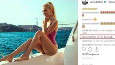 İrem Derici'nin eski eşi Rıza Esendemir'in Cansu Taşkın'a yaptığı yorum sosyal medyayı salladı