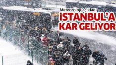 İstanbul'a kar geliyor! Bu geceye dikkat! (İstanbul hava durumu)
