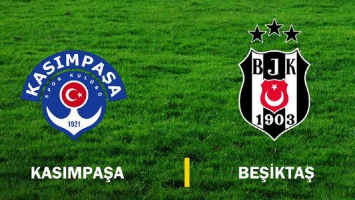 Kasımpaşa Beşiktaş maçı ne zaman? Beşiktaş'ın Kasımpaşa karşısındaki muhtemel ilk 11'i